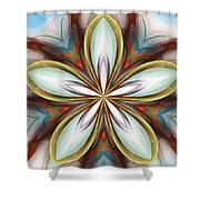 Floral Fantasy 090412 Shower Curtain