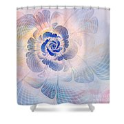Floral Impression Shower Curtain