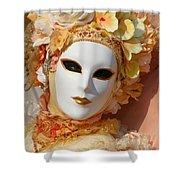 Floral Queen Portrait 2 Shower Curtain