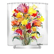 Floral Seven Shower Curtain