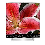 Floral Textures I Shower Curtain