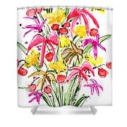 Floral Twelve Shower Curtain