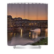 Florence - Ponte Vecchio Shower Curtain