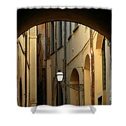 Florence Alley  Shower Curtain