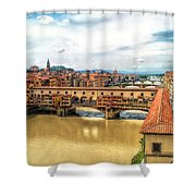 Florence Bridges II Shower Curtain