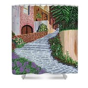 Florence Italy Apartments Shower Curtain