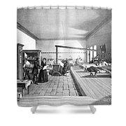 Florence Nightingale, English Nurse Shower Curtain