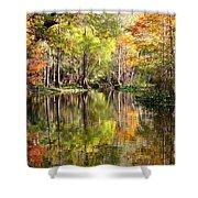 Florida Autumn Secret Shower Curtain