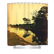 Florida Landscape II Shower Curtain