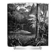 Florida: Swamp Shower Curtain
