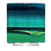 Florida Wave Shower Curtain