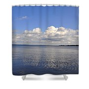 Floridian View Shower Curtain