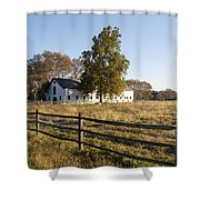 Flourtown Morning Shower Curtain