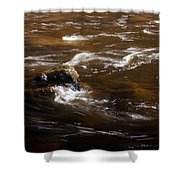 Flow Of Thought Shower Curtain