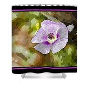 Flower 4 Shower Curtain