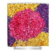 Flower Carpet Shower Curtain