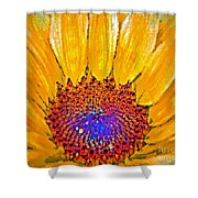 Flower Child - Flower Power Shower Curtain