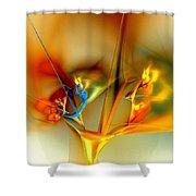 Flower Composition Shower Curtain