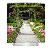 Flower Garden - Digital Painting Shower Curtain