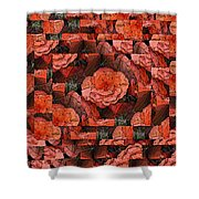 Flower Garden Delightful Shower Curtain