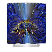 Flower In The Abstract Light Fx  Shower Curtain