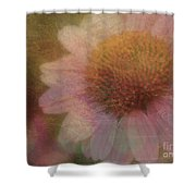 Flower Paper Shower Curtain