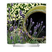 Flower Pot 5 Shower Curtain