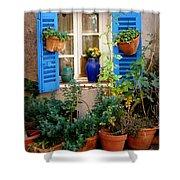 Flower Pots Galore Shower Curtain
