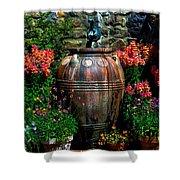 Flower Potts Shower Curtain