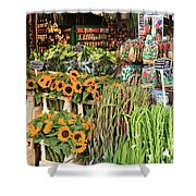 Flower Shop In Amsterdam Shower Curtain