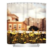 Flowers - High Line Park - New York City Shower Curtain