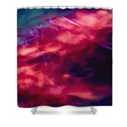 Flowers In The Wind Shower Curtain