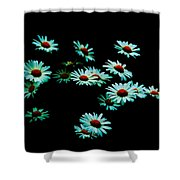Flowers Only Shower Curtain
