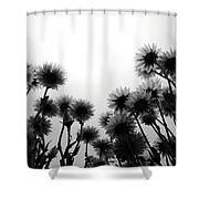 Flowers Standing Tall Shower Curtain