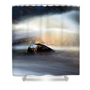 Flowing River II Shower Curtain