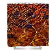Flowing Water Of The Elwha Shower Curtain