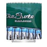 Fluid Drive Shower Curtain
