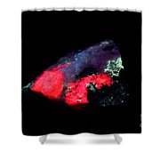 Fluorescent Illimaussaq Complex Shower Curtain