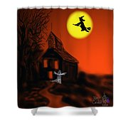 Fly By Night Shower Curtain by Kevin Caudill