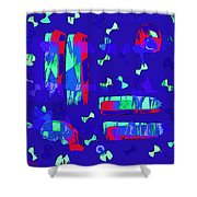 Fly Me Home Shower Curtain