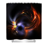 Flying Eye Shower Curtain