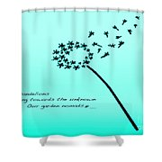 Flying Nomads Shower Curtain