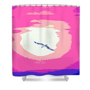 Flying To Heaven Shower Curtain