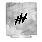 Flying Together Shower Curtain