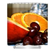Focus Food Shower Curtain