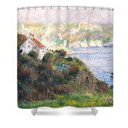 Fog On Guernsey Shower Curtain