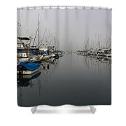 Foggy Morn Shower Curtain
