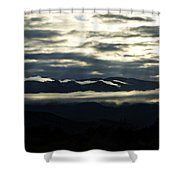 Foggy Morning  Shower Curtain