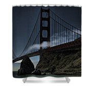Fog's Slow Release Shower Curtain