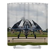 Folded Wings Shower Curtain